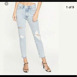 NWT Rag'n'Bone Madison Hole High Rise Skinny Jeans